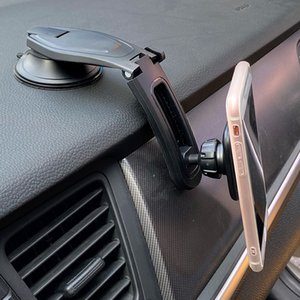New Arrival Dashboard Magnetic Cell Phone Holder Car Mobile Mount with 360 Degree Rotation for Samsung  Xiaomi
