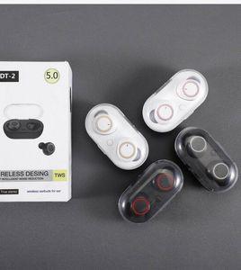 Dt -2 Tws Kopfhörer 5 .0 Bluetooth-Kopfhörer 3D-Stereo-drahtlose Kopfhörer mit Dual-Mikrofon Bt 5 .0 In -Earphone Handfree Sport Buds