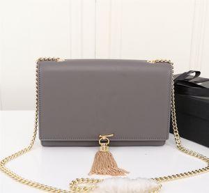 2020 Дизайнерские сумки роскошь сумки КЕЙТ сумки женские кошелек натуральная кожа цепь плечо сумка женщин Кроссбоди мешок высокого качества прочистки мешок 22см