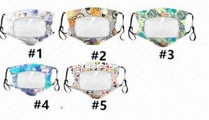 Maschera per adulti cotone sottile di modo trasparente respirabile maschere antipolvere protezione riutilizzabile lavabile maschera di 5 colori D62315 vZqs #