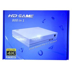 cgjxs Cgjxs 2018 Hdgame Konsolen 4k Tv Video Hdgame Console Unterstützung HDML- TV-Ausgang Shop 800 Spiele für GBA Fc Md Spiele mit Kleinkasten Freie