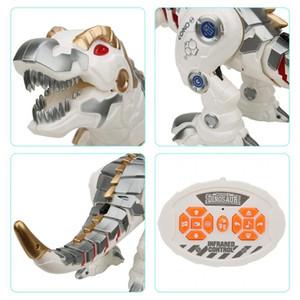 전기 지능형 RC 산책 공룡 장난감 시뮬레이션 동물 공룡 로봇 모델 어린이 장난감 선물을 충전 RC 공룡 장난감
