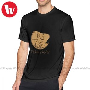 Pennywise-T-Shirt Pennywise T-Shirt plus Größe netten T-Shirt Graphic Baumwollbeiläufiges Short Sleeve Mann-T-Shirt