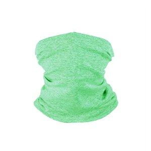 Máscaras ciclismo sólida protección solar de la cubierta de la cara 12 colores para adultos sin fisuras bufanda mágica ciclo Bandana sin filtro 22 * 32cm 60pcs CCA12470