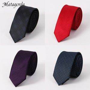 Upscale 5cm Gravata Groomsmen Tie-Cocktailparty-Feiertags-Geschenk Männer Zubehör Formelle Krawatte Neckcloth Krawatte dünne Krawatte Ascot