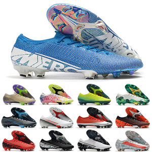 Baratos para hombre originales Las mujeres de bajos Mercurial CR7 Sueño Elite FG velocidad 13 Ronaldo Neymar NJR 360 muchachos niños Tacos de fútbol Fútbol botas Shoes