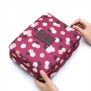 Women Cosmetic Bag Multifunction Organizer Waterproof Portable Makeup Bag Travel Necessity Beauty Case Wash Pouch Makeup Bag