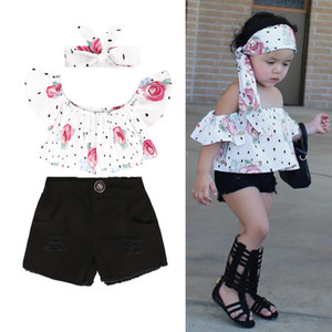 KEAIYOUHUO 2020 Baby Girl Clothes Sets Short Sleeve Kids Clothes For Girl Outfit Suit Children Clothing Tracksuit For Girls Suit