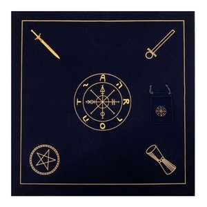 Pad Tarot Tovaglia Set Velvet Card Game Divinazione Altare Oracle panno Carte da gioco Bag Accessori Tarot Bordo Con 2pcs yxlPgO