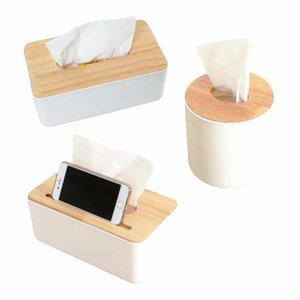 Wooden Tissue Box Home Tissue Box Container Towel Napkin Holder Home Kitchen Storage Organization