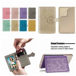 Universal Voltar Phone Card slot 3M Adesivo couro para o iPhone 12 11 XR S20 Dog Cat Note20 Pouch vara em carteira titular caso Caixa ID Credit