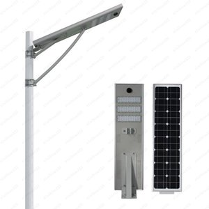 Hot Sales 50w Led Solar Street Lamp Lighting Led Road Lamp Dusk To Dawn With Motion Sensor Outdoor Security Light Free Shipping