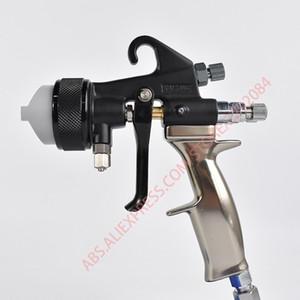 Professional Nano Coating Spray Gun Double head chrome painting PE paint gun Dual Nozzle polyurethane Spray Painting tools