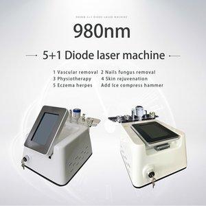 980nm лазерный диод паук Vein терапия для лица Beauty Machine 5 В 1 980nm лазерный станок для физиотерапии и физиотерапии
