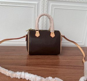 Top bandoulière NANO 16cm diseñador para mujer TOTE asa superior del hombro Cross Body Bag bolso de lona Mini Pochette Accessoires