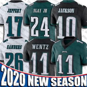 Carson Wentz Jersey Darío Mata Jr DeSean Jackson jerseys Alshon Jeffery Reagor Zach Ertz Miles Sanders FiladelfiaÁguilajerseys