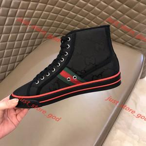 Gucci ارتفاع جديد أفضل تصميم أزياء النساء والرجال جلد طبيعي قمم التطريز أحذية النحل لوكس شقة حذاء المشي أحذية الزفاف حزب اللباس