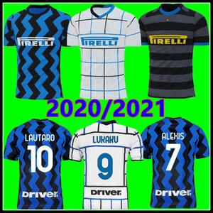 maillot inter Milan 2020 2021 international Lukaku LAUTARO Škriniar maillot domicile ALEXIS BARELLA SENSI inter milan 3 uniformes de football