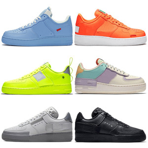 nike air force 1 2019 New Low MCA University Blue 1s 덩크 Utility 스케이트 보드 캐주얼 Shoes High Cut Green Triples White black 밀 men women Sports sneakers