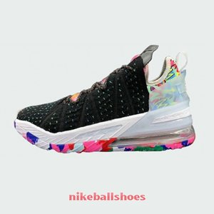 cheap mens new lebron 18 XVIII EP James Gang basketball shoes for sale kids james sneakers tennis shoe store
