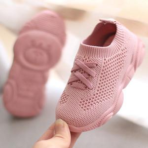 Çocuklar Ayakkabı Antislip Yumuşak Alt Bebek Sneaker Rahat Düz Sneakers Ayakkabı Çocuk Boyutu Kız Erkek Spor Ayakkabı