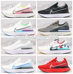 Nike react Reagir de Run Homens Infinito e das mulheres sapatos de ultra-light tricô unisex casuais amortecimento confortável correndo sapatos de grife