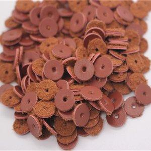 Cc8GT sottile pelle bovina spcer 500 pezzi confezione da 6 8 10 12 14 millimetri di diametro Buddha perline pad Bracciale guarnizione imitazione cinturino in pelle in pelle pad