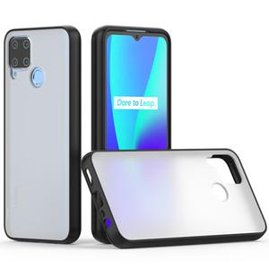 Anti Fingerprint fosco caso de telefone celular para 1 + nord, Clear Case PC TPU Para OnePlus nord A