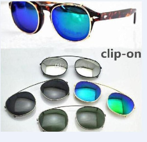 New Designer S M L 3size lemtosh cliptosh sunglasses lenses myopia frames Flip Up polarized lens clip-on clips eyewear