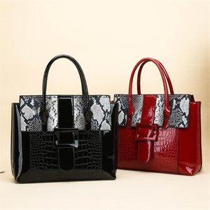 LONOOLISA Sac A Главный Femme лакированные женские Сумки для женщин 2020 Serpentine Роскошные сумки Женские сумки конструктора Bolso