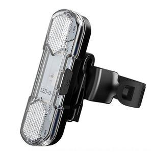 دراجة ركوب الدراجات ذيل الذيل سلامة عالية تحذير ضوء USB شحن سريع ذيل تحذير معدات ركوب خفيفة