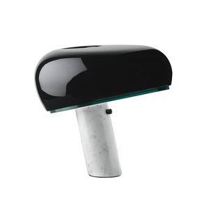 Flos Snoopy Lamp Nordic Marble Table Lamp Dimmer Switch Desk Lamp Post Modern Ferro Mesa de Luz de cabeceira quarto luminária