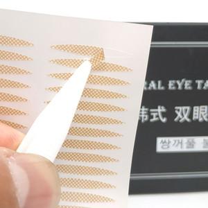 6 styles 40 pcs Popular Olive-shaped Lace Transparent Eyelid Sticker Invisible Eyelid Paste Self-adhesive Double Eye Tape Make Up Tool