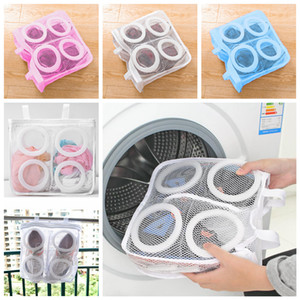 Lazy Shoes Washing Bags Laundry Bags for Shoes Underwear Bra Shoes Airing Dry Tool Mesh Laundry Bag Protective Organizer FFA4383