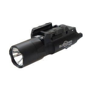 Taktik SF X300 Ultra LED Tabanca Işık X300U Av Tüfek Fener Beyaz ışık 400 lümen Çıktı uyum Picatinny veya Universal Raylı