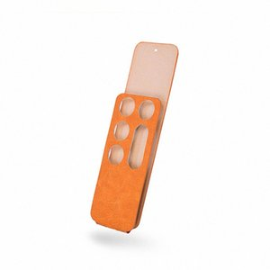 오렌지는 원격 제어 PU 보호 케이스 스킨 커버 애플 TV 4 원격 제어 WoYc 번호를 커버