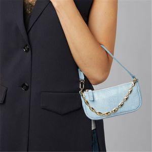 Free Ship Chain подмышек Багет Small Mini сумка Женский Lizard кожа Kelly Bag Double Roots мешок плеча Lady Rachel Crossbody сумки