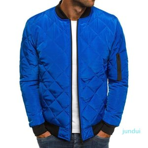 Hot Sale 2019 Slim Fit Утепленные пальто осень зима Мужская Легкий ветрозащитный Packable куртка Solid Color Jackests Outwear
