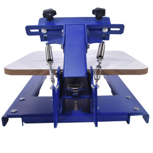 SPE-11TX un colore blu vestiti macchina serigrafica manuale di stampa macchina in grado di stampare più modelli