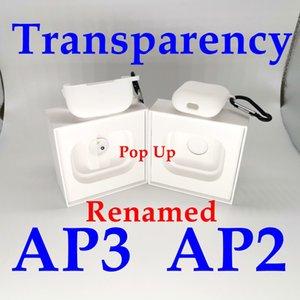 2020 для AirPods Pro случай 2 H1 AP Чип Прозрачность AirPro Gen металла Петля Пластиковые Wrap Силиконовые Наушники Чехлы для Airpods СПЦ