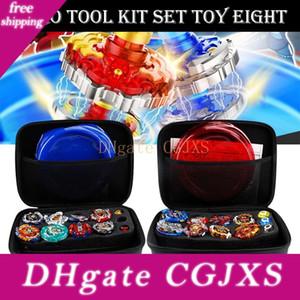 Gyro juguete del kit Batalla Tops caja del juguete giroscopio Estadio Lanzador de Batalla de la explosión de Conjunto con el lanzador Peonza Bey juguetes Beyblade Burst