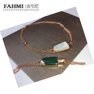 2019 Top Quality Designer New Men and Women Bracelets Cute Popsicle Ice Cream White Mother-of-pearl Malachite High Inlaid Carbon Drill