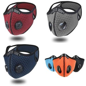 Cycling Dust Proof Mask Sunscreen Reusable Masks With Valve Filter Men And Women Outdoor Sports Supplies 5 9gl E2