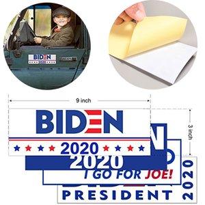 الانتخابات DHL شحن 5 أنماط بايدن وظيفة 2020 ملصقات السيارات الأمريكية العام 7.6 * 22.9cm الوفير ملصقا لصائق السيارات سيارة المقرب DHA1073