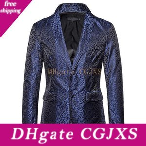 Men &#039 ;S Suits Tuxedos Blazer Jacket Brown Wedding Suits For Men Blazer Slim Fit Navy Blue New