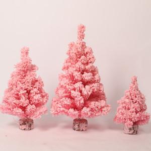 CHUNMU simulazione Rosa di crittografia che si affolla il mini albero di Natale Nuovo squisito tavolino della decorazione regalo decorazioni di natale