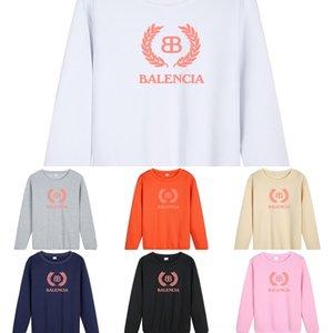wroEP 4JZ0H 2020 moda y alrededor del cuello de la venta caliente otoño e impresa suéter con capucha de alta calidad sw muelle S-X del suéter de los hombres de las mujeres