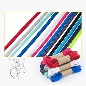 1pair / Classic Rodada Cordão de alta qualidade Lazer Esporte sapatos laços Outdoor Homens e mulheres cadarço Moda Multi Color