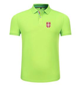 sırbistan 2020 ilkbahar ve yaz yeni pamuk futbol polo yaka erkek kısa kollu yaka unisex polo can DIY özel erkek polo gömlek