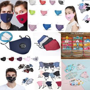 kids face shield Face Mask washable reusable ppe kids masks Anti Dust Mouth Masks breathable and washable rhinestone designer face masks